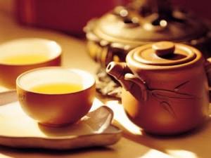Czarka żółtej herbaty