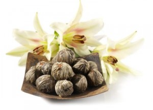 Kwitnąca herbata jaśminowa