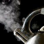 Wrząca woda do herbaty